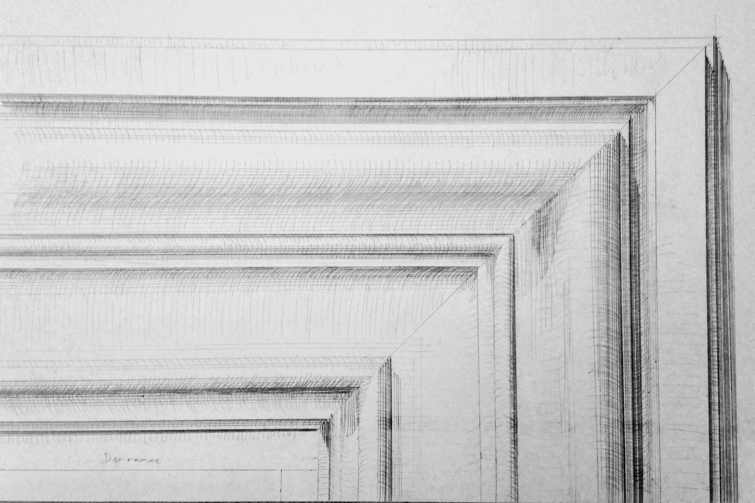 claus lind © panels gjersholt manor classic architecture architraves