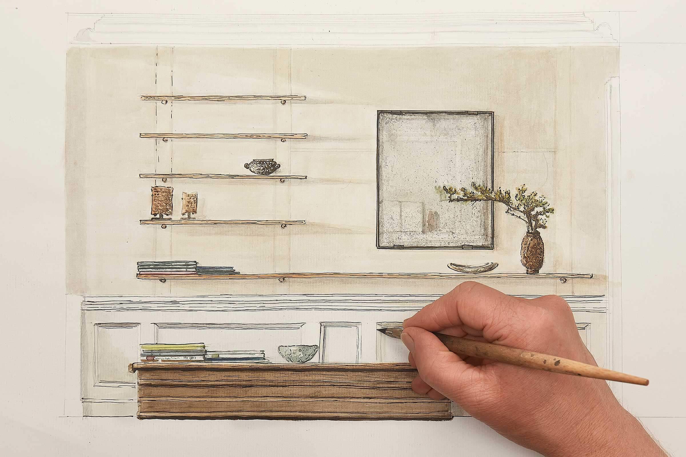 interior contemporary wabi sabi design art process claus lind ©