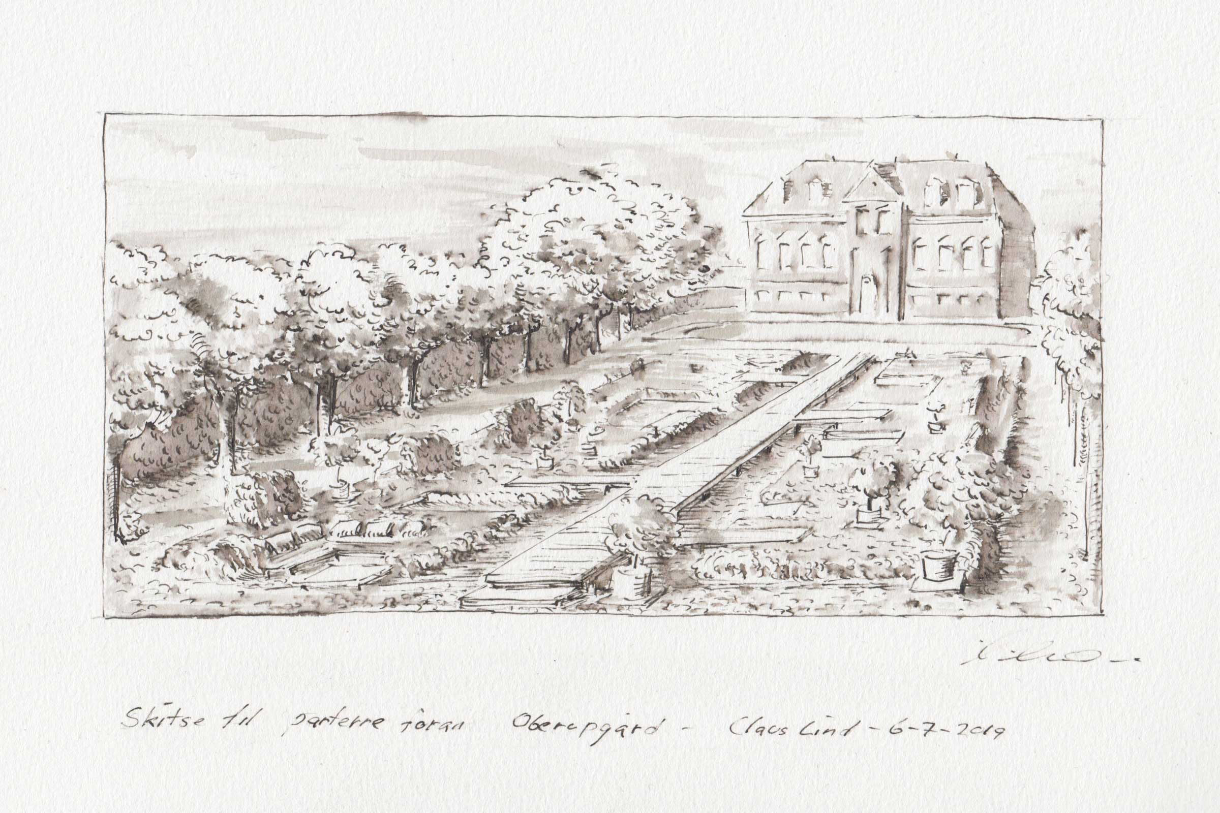 claus lind © manor park architecture sketches ivy bridge oberupgaard garden