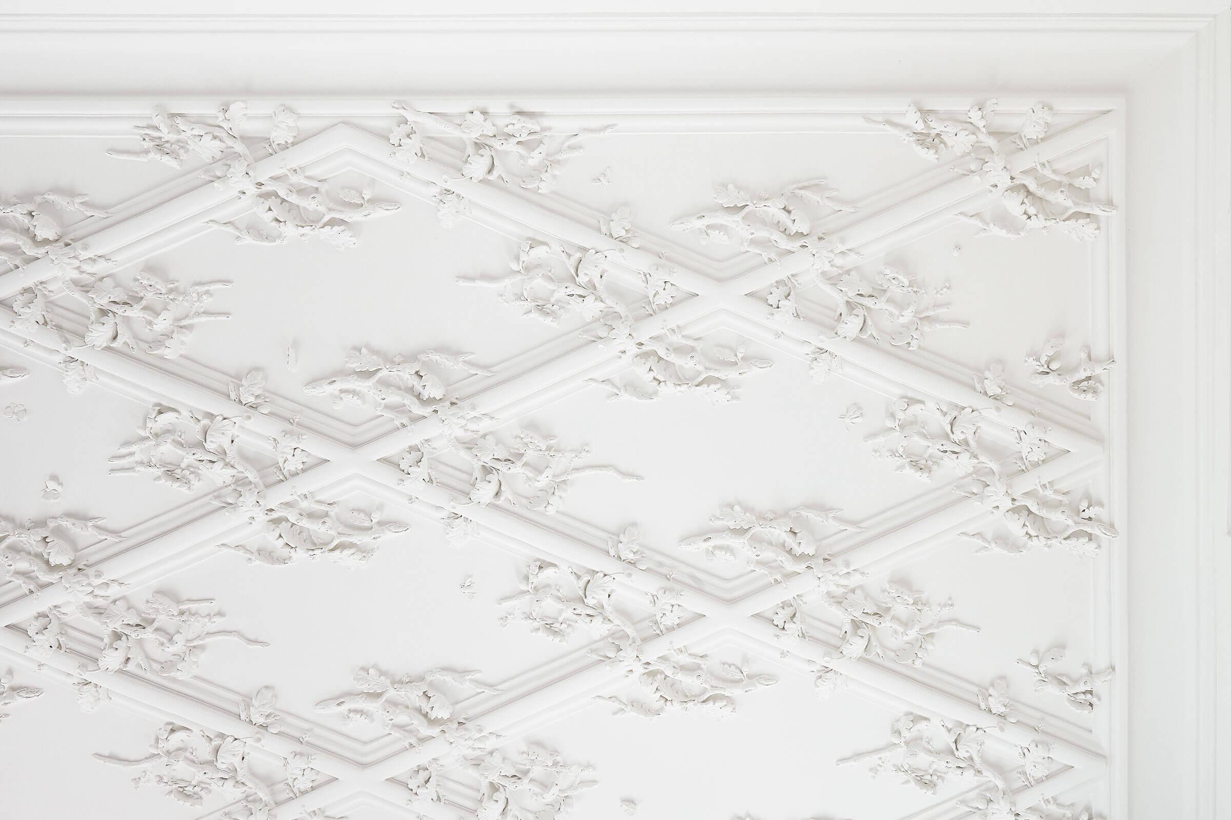 stucco interior claus lind © contemporary craft