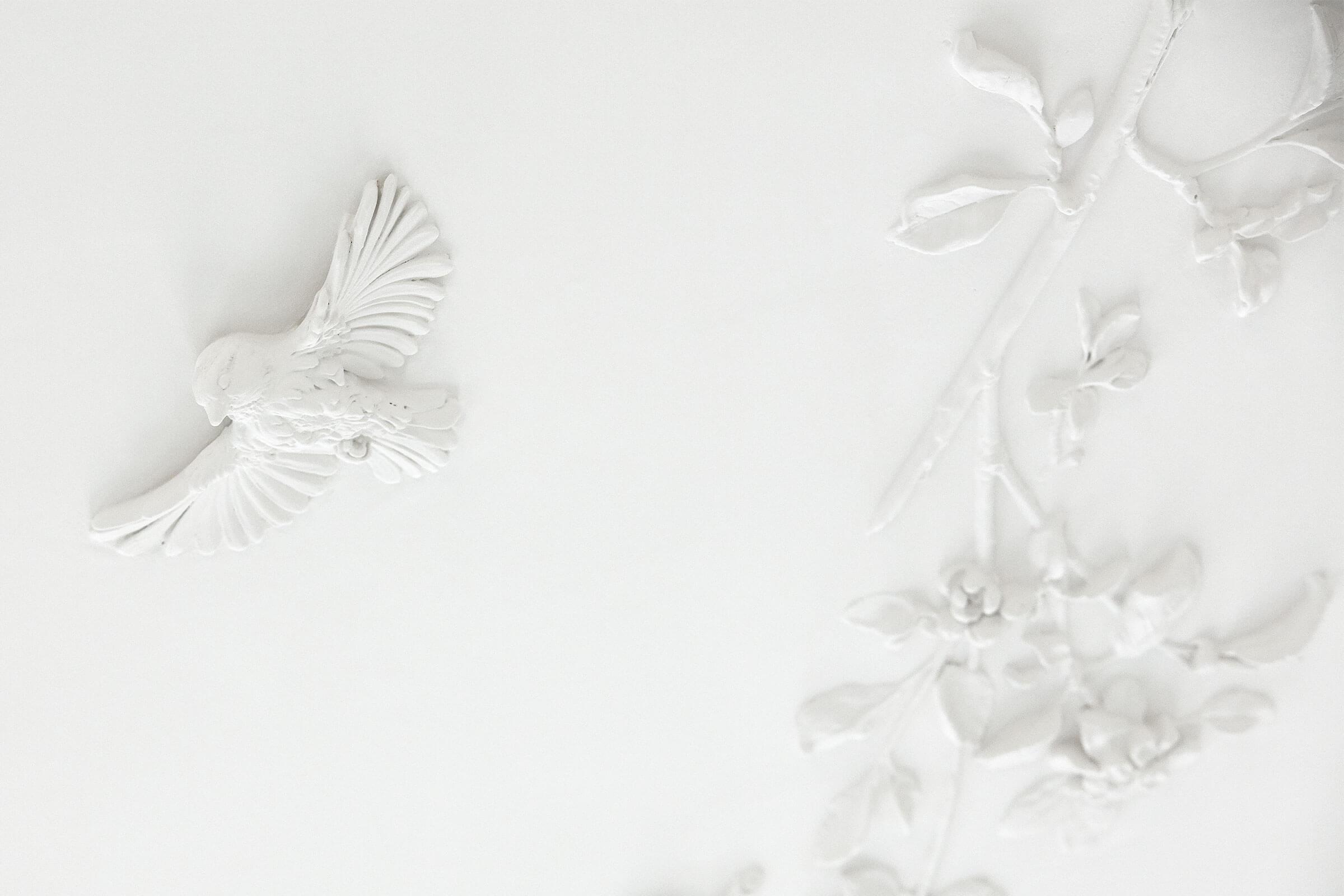 claus lind © stucco contemporary interior stucco modeling