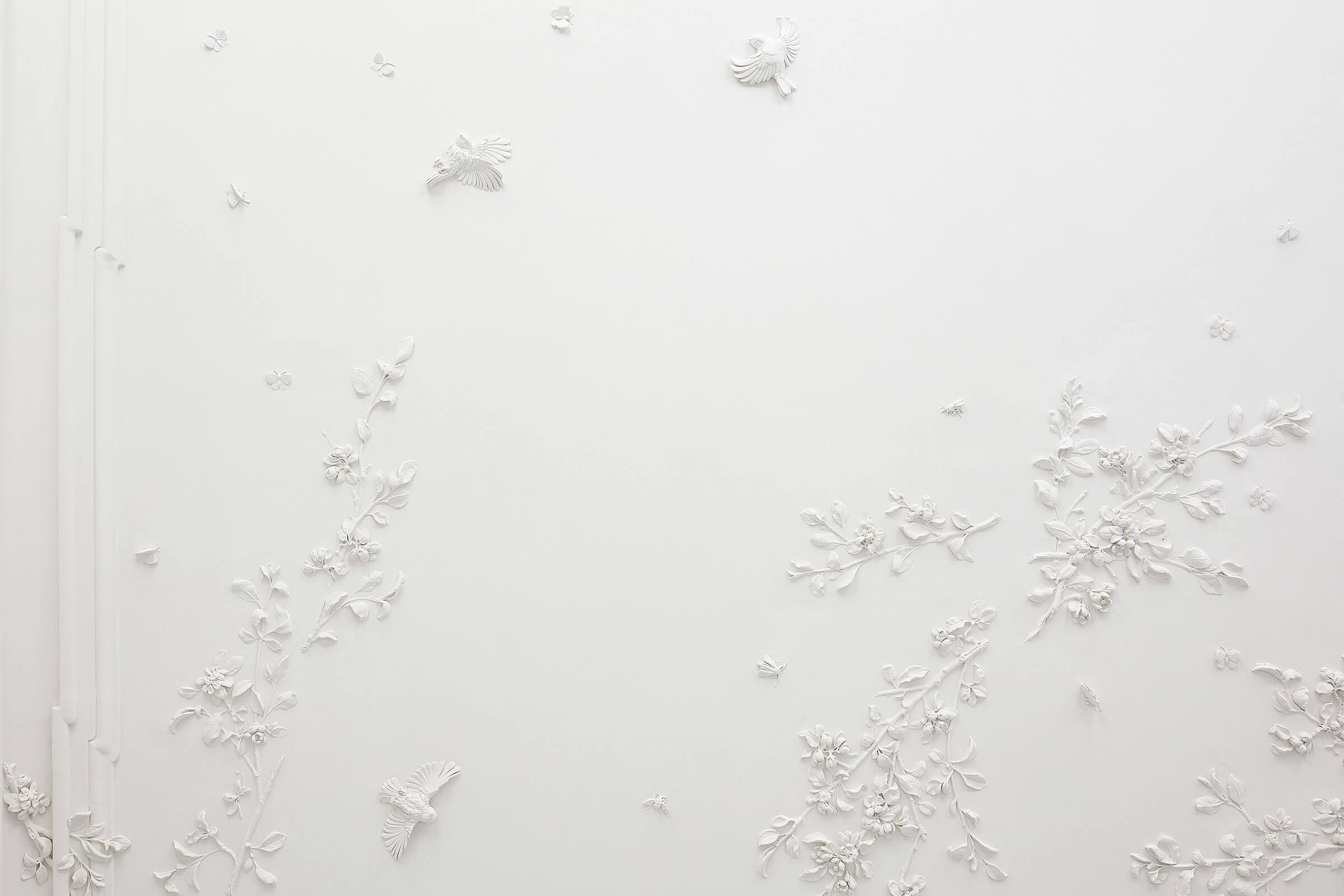 claus lind © stucco contemporary interior stucco modeling stucco interior